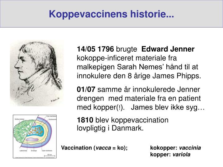 Koppevaccinens historie...