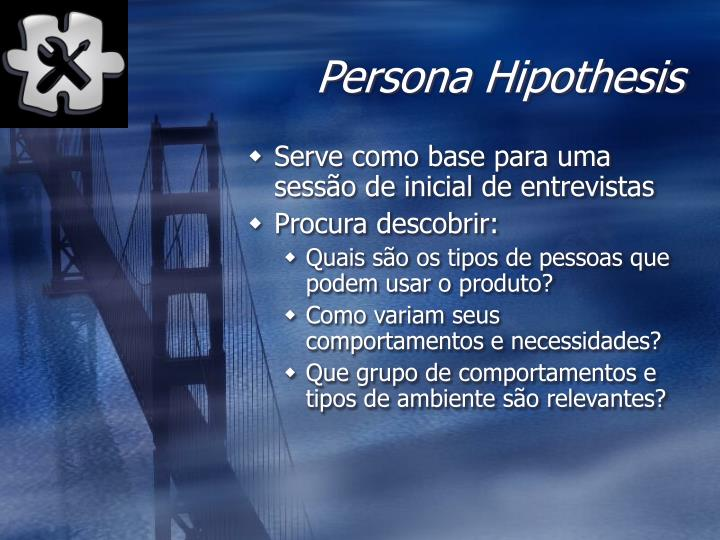 Persona Hipothesis