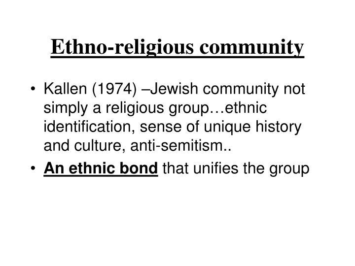 Ethno-religious community