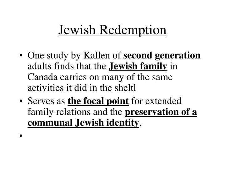 Jewish Redemption