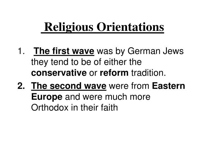 Religious Orientations