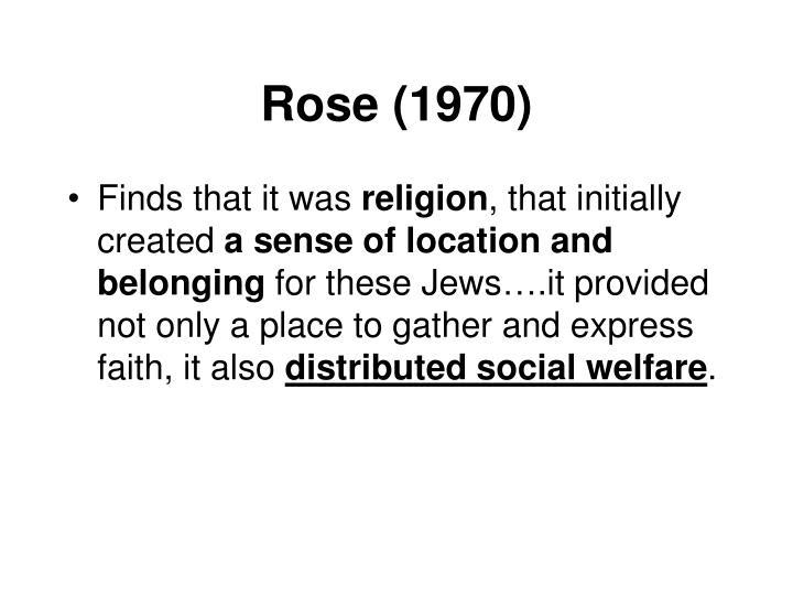 Rose (1970)