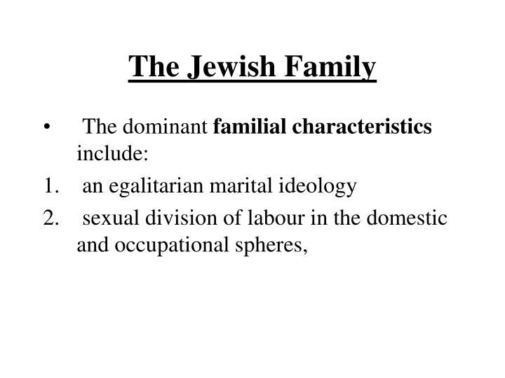 The Jewish Family