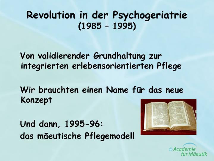 Revolution in der Psychogeriatrie