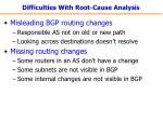 difficulties with root cause analysis