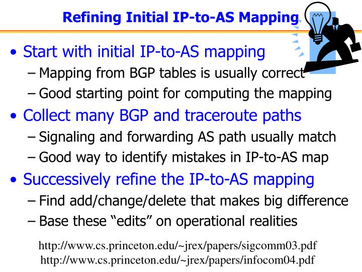 Refining Initial IP-to-AS Mapping