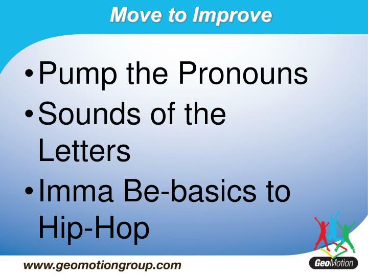 Pump the Pronouns