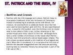 st patrick and the irish iv