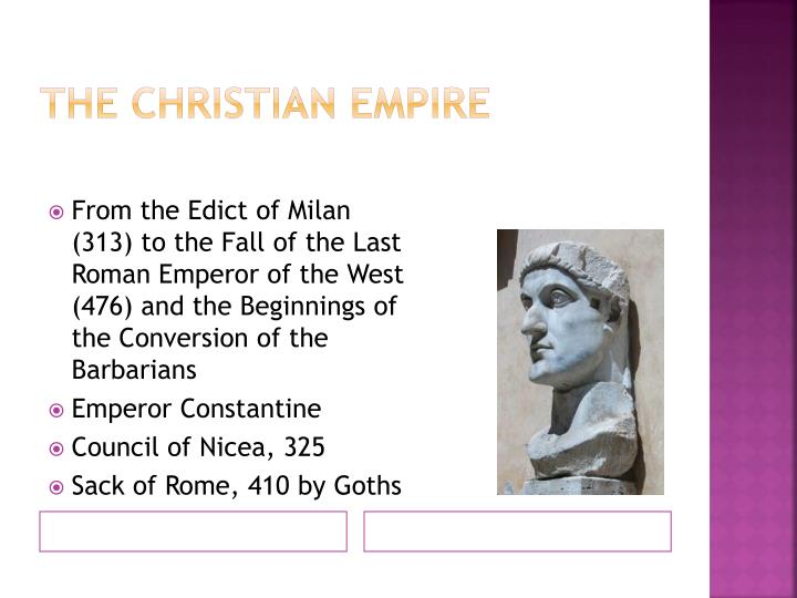 The Christian Empire
