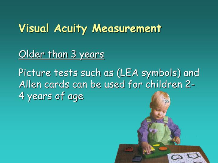 Visual Acuity Measurement