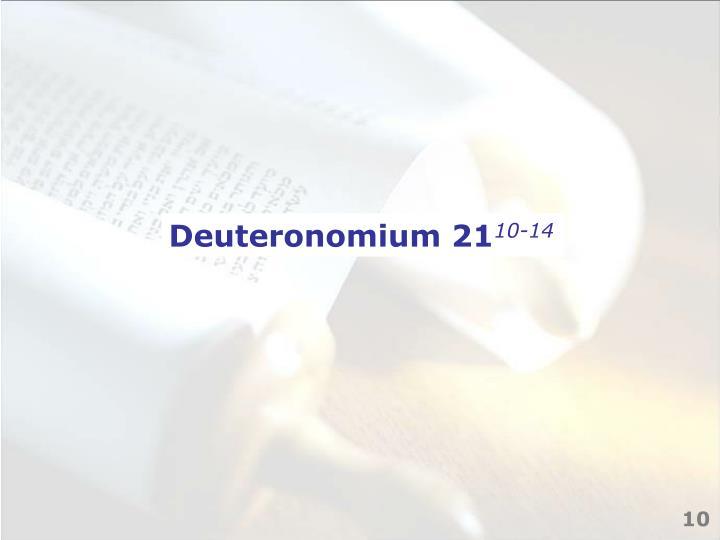 Deuteronomium 21