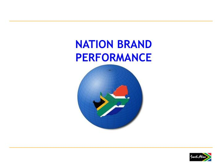 NATION BRAND PERFORMANCE