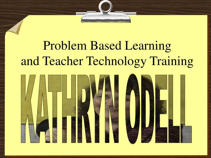 problem based learning in teaching Problem-based learning (pbl) is a teaching method in which complex real-world problems are used as the vehicle to promote student learning of concepts and principles as opposed to direct presentation of facts and concepts.