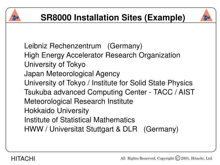 Leibniz Rechenzentrum   (Germany)