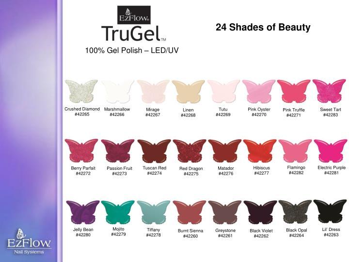 24 Shades of Beauty