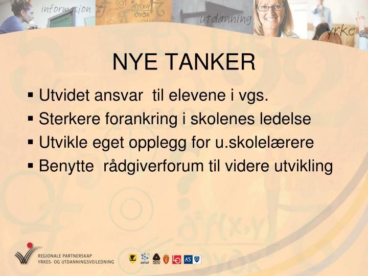 NYE TANKER