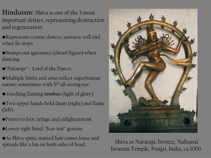 Shiva as Nataraja: b
