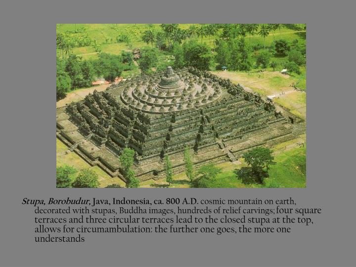Stupa, Borobudur,