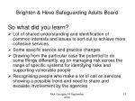 brighton hove safeguarding adults board12