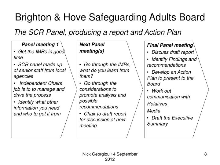 Brighton & Hove Safeguarding Adults Board