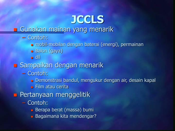 JCCLS