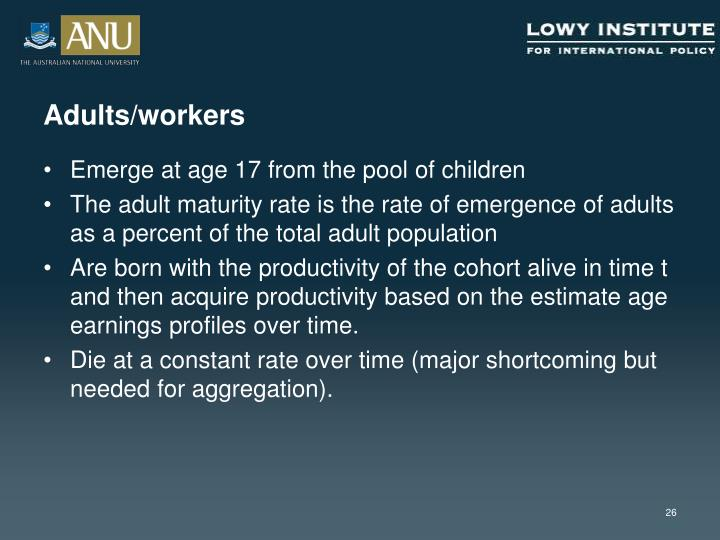 Adults/workers