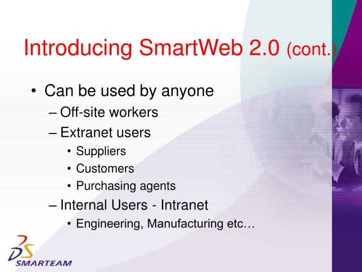 Introducing SmartWeb 2.0