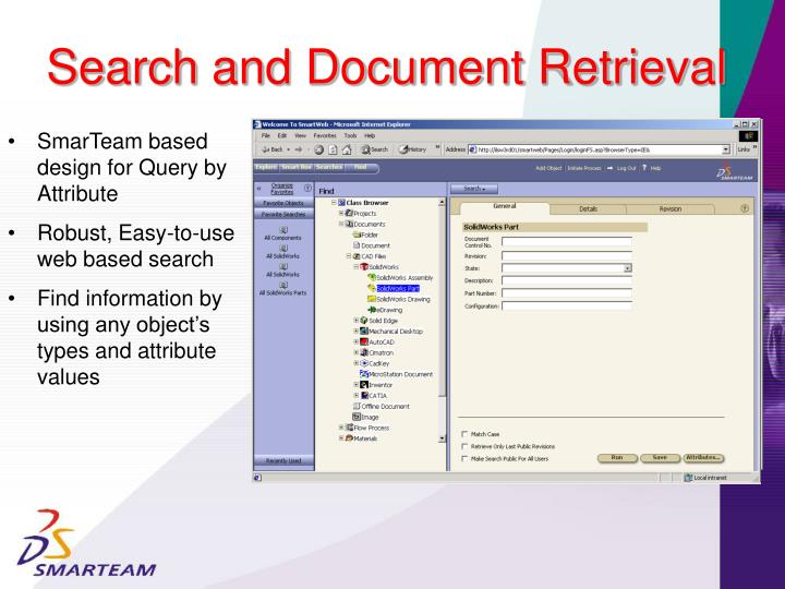 Search and Document Retrieval