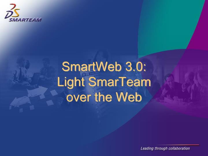 SmartWeb 3.0: