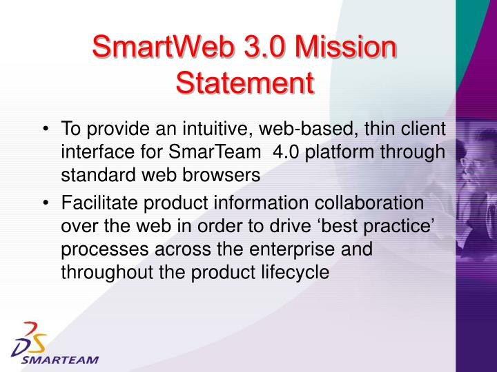 SmartWeb 3.0 Mission Statement