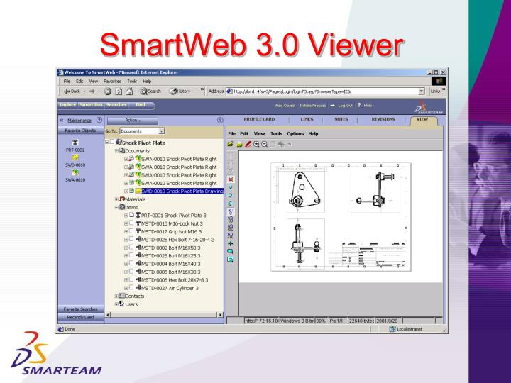 SmartWeb 3.0 Viewer