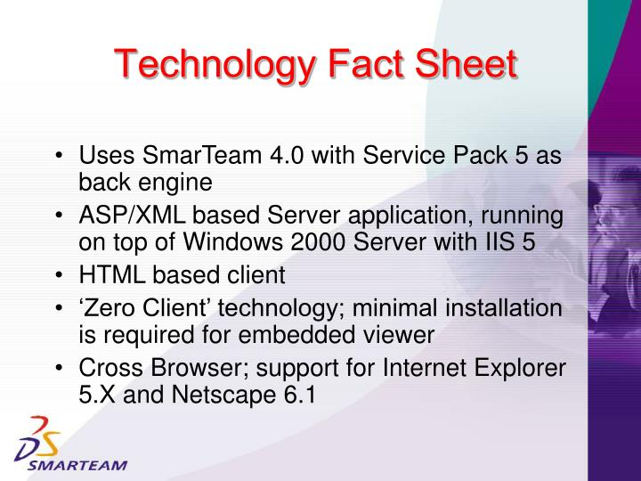 Technology Fact Sheet