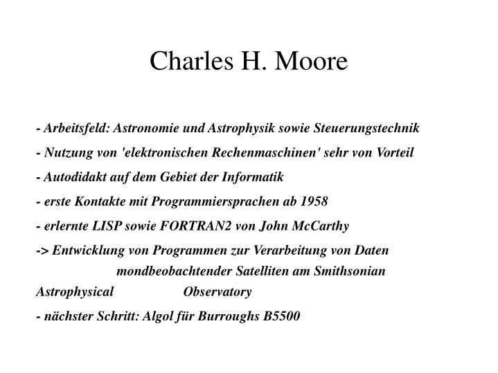 - Arbeitsfeld: Astronomie und Astrophysik sowie Steuerungstechnik