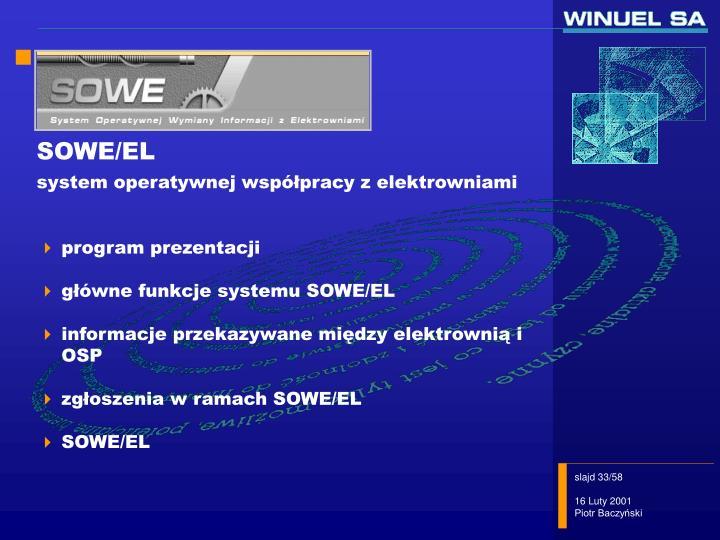 SOWE/EL