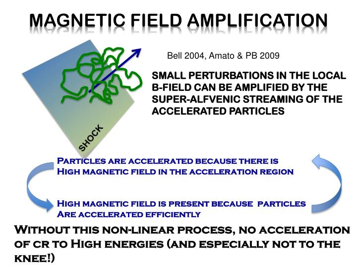 MAGNETIC FIELD AMPLIFICATION