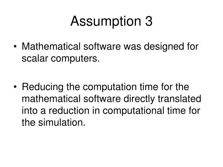 Assumption 3