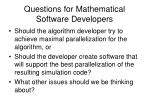 questions for mathematical software developers2