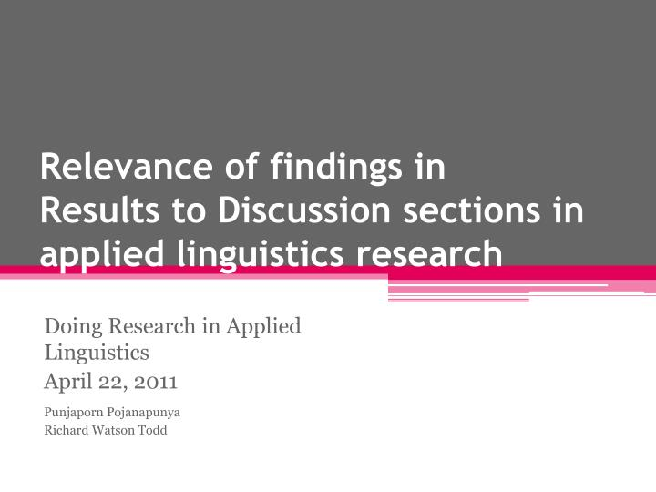 research papers on linguistics Research, pinpoint open  linguistics new york: newbury house (very comprehensive, but less linguistics than one might expect)  research_proposal_howtodoc.