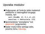 uporaba modulov1
