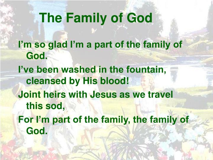 The family of god1