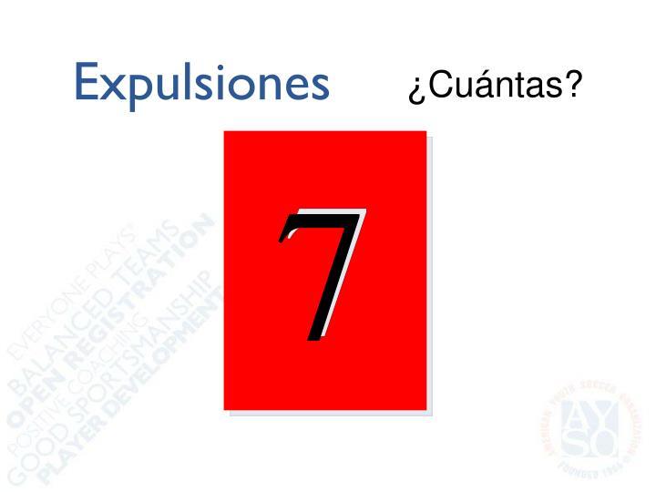 Expulsiones