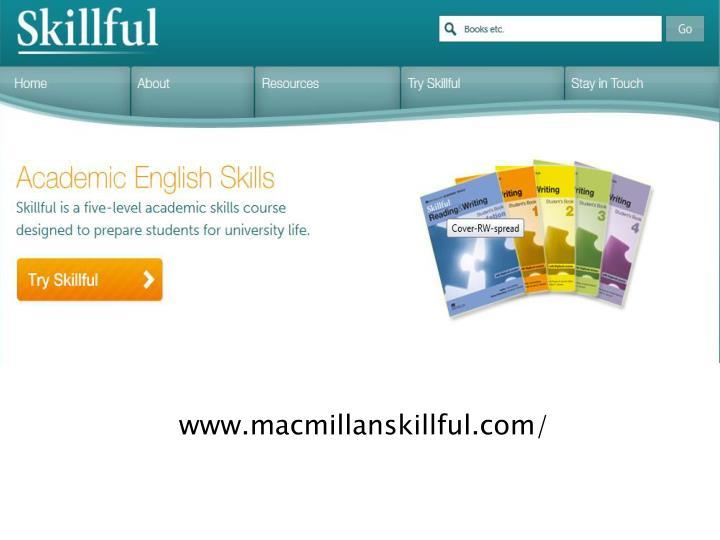 www.macmillanskillful.com