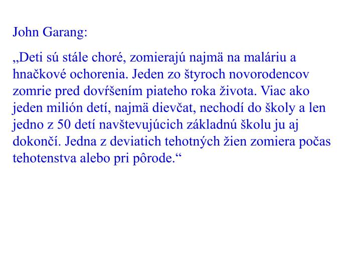 John Garang: