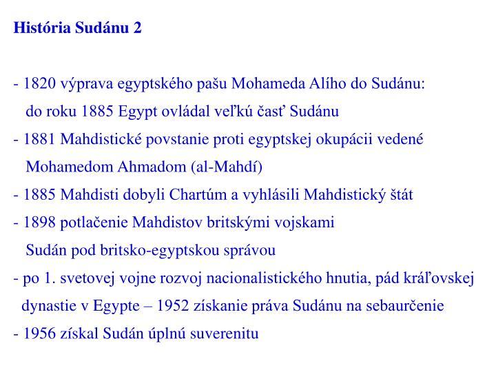 História Sudánu 2