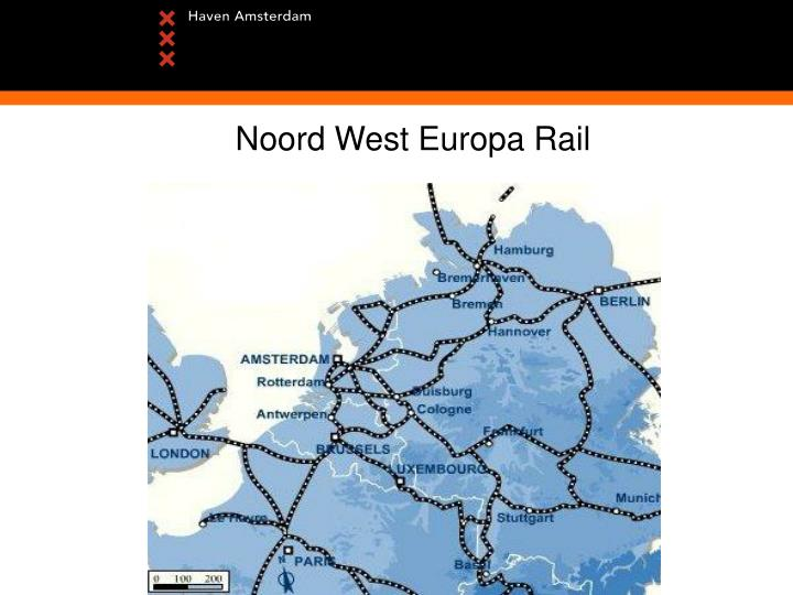 Noord West Europa Rail