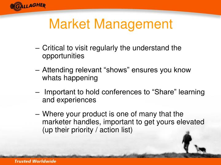 Market Management