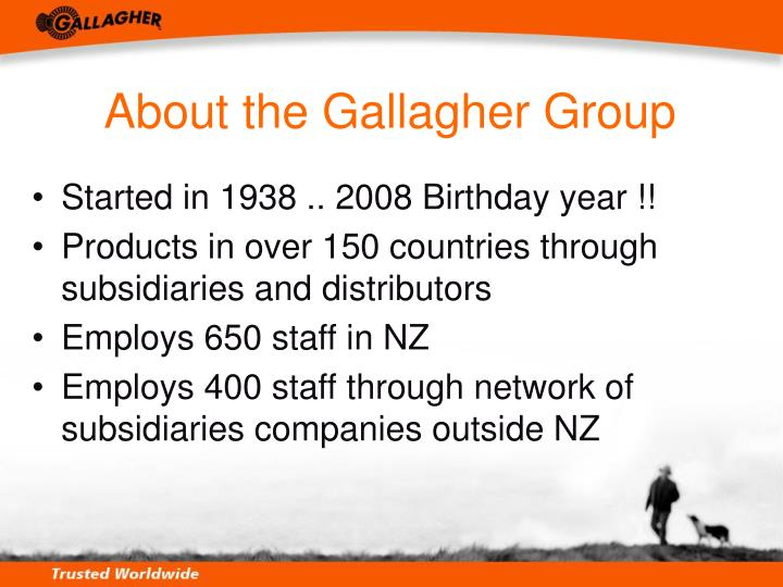 About the Gallagher Group