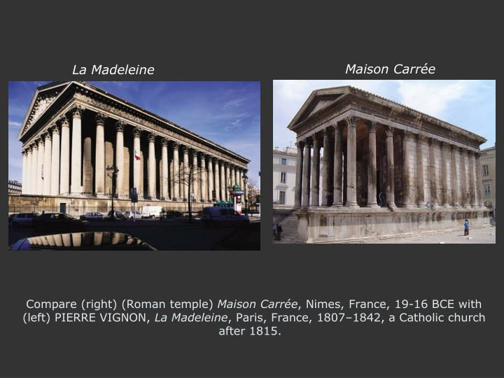 Compare (right) (Roman temple)