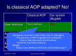 is classical aop adapted no1