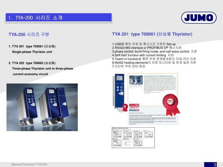 1. TYA-200